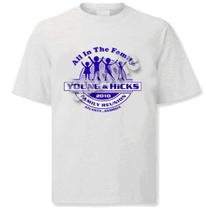 family reunion t-shirts in atlanta