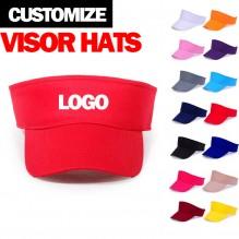 Customize visor hats